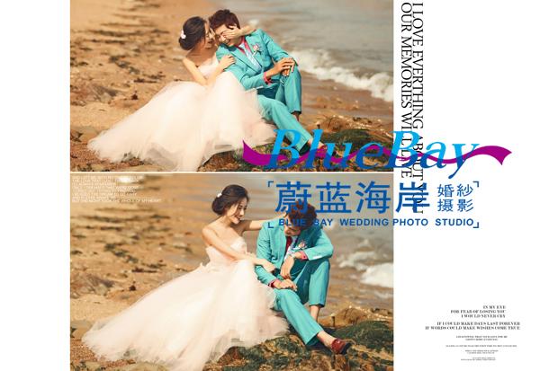 大连海景婚纱照