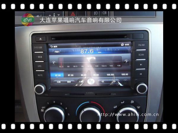 大连汽车音响改装 别克GL8升级卡仕达DVD导航一体机高清图片