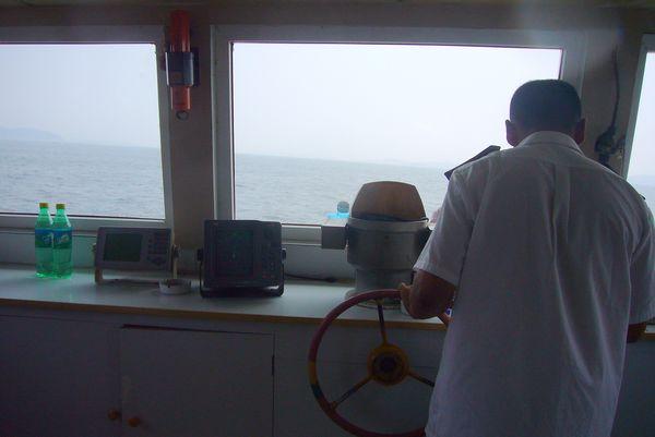 船长在开船