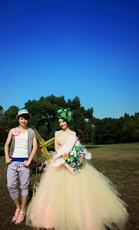 婚纱摄影蔚蓝海岸1