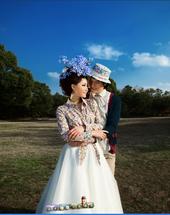 婚纱摄影蔚蓝海岸2