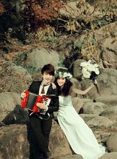 大连婚纱摄影蔚蓝海岸婚纱摄影1