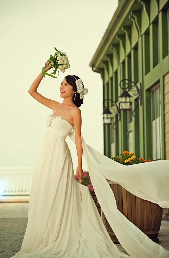 大连外景婚纱照