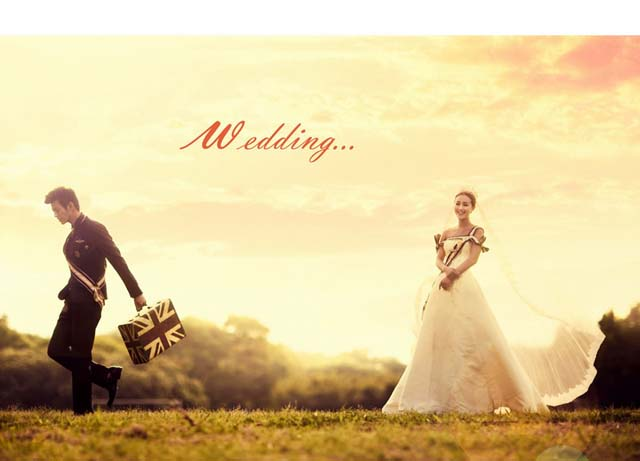 大连外景婚纱摄影